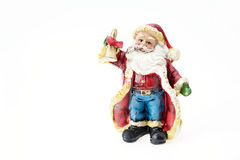 Santa Claus doll. Stock Photo