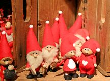 Santa Claus. The Santa Claus Doll Souvenir in  Finland Stock Image