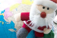 Santa Claus Dolls stock foto