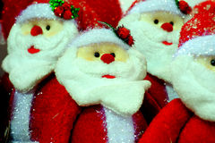 Santa Claus. The Santa Claus dolls Souvenir Royalty Free Stock Images