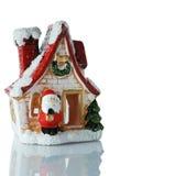 Santa claus dom obrazy stock