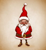 Santa Claus drawing Royalty Free Stock Photography