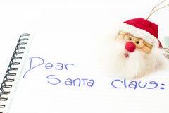 Santa claus drogi zdjęcia stock