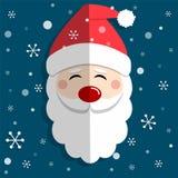 Santa Claus e Chrismas allegro illustrazione di stock