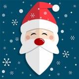 Santa Claus e Chrismas allegro illustrazione vettoriale