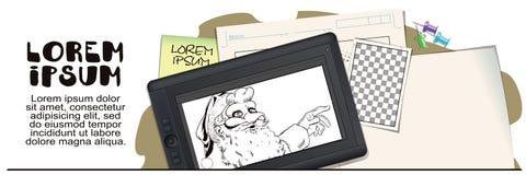 Santa Claus in een haanmasker Symbool van jaar horoscope Royalty-vrije Stock Foto's