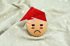 Santa Claus Egg Stock Image