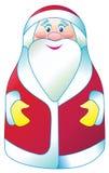 Santa Claus in einem Vektor Lizenzfreie Stockfotos