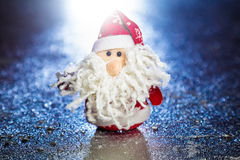 Santa Claus eller fader Frost Arkivfoto