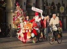 Santa Claus em Alemanha Fotografia de Stock