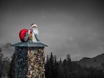Santa Claus est déjà ici Media mélangé Images stock