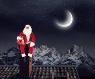 Santa Claus est déjà ici Media mélangé Media mélangé Photos libres de droits