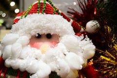 Santa Claus för brosur och baner Arkivfoton
