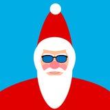 Santa Claus face Stock Photo