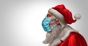 Santa Claus Face Mask