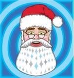 Santa Claus face vector Royalty Free Stock Photo