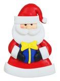 Santa Claus a fait de l'argile de polymère Images libres de droits