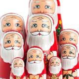 Santa Claus Family Portrait Stock Images