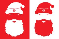 Santa Claus, fashion style Stock Photography