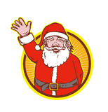 Santa Claus Father Christmas Cartoon Stock Image