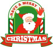 Santa Claus Father Christmas Retro Royalty Free Stock Images