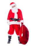 Santa Claus fatiguée Photographie stock