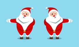 Santa Claus festiva Héroe bueno, barbudo Fotografía de archivo