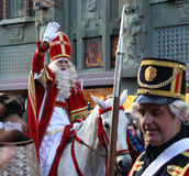 Santa Claus festival in Holland Royalty Free Stock Photos