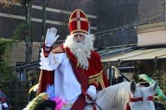 Santa Claus festival in Holland stock image