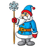 Santa Claus festive character. Stock Photos
