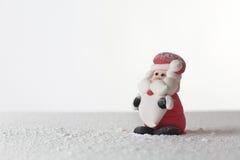 Santa claus figure Stock Images