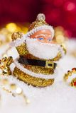 Santa Claus figurine Royalty Free Stock Photos