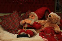 Santa Claus figurine Royalty Free Stock Images