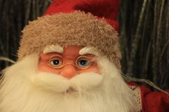 Santa Claus figurine Stock Photography