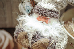 Santa Claus figurine close up Royalty Free Stock Photo