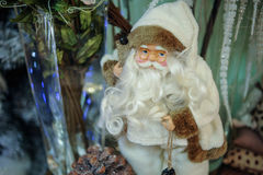 Santa Claus figurine close up Royalty Free Stock Photos
