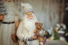 Santa Claus figurine close up Royalty Free Stock Image