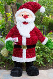 Santa Claus figurine Stock Images
