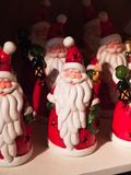Santa Claus figurines Royalty Free Stock Image