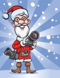 Santa Claus fotograf stock illustrationer