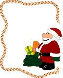 Santa claus frame Royalty Free Stock Photos