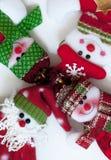 Santa Claus And Friends Composición divertida Fotos de archivo