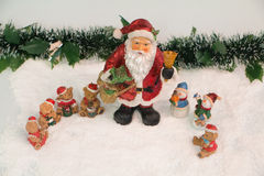 Santa Claus And Friends Stock Photo