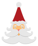 Santa Claus Frightened Stock Photography