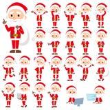 Santa Claus gamal man Royaltyfri Fotografi