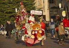 Santa Claus in Germania Fotografia Stock