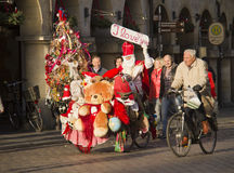 Santa Claus in Germany Stock Images