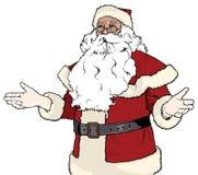 Santa Claus Gesturing Welcome Lizenzfreie Stockbilder