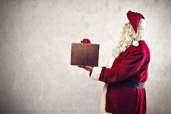 Santa Claus Gift Royalty Free Stock Photography