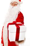 Santa Claus with gift boxes Royalty Free Stock Photography